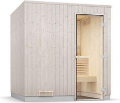 isidor sauna extérieur sauna cabine sauna 2x2 m toit en panneaux ... - Cabine Sauna Exterieur