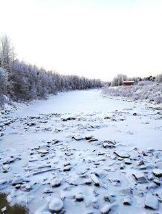 Haapakoski's bridge  winter 2016