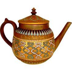 Fantastic Teapot ~ Doulton Lambeth
