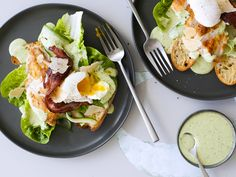 Chelsea's chicken Caesar salad