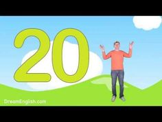 Let's Count to 20 Song For Kids - YouTube. The next step from Dream English. These songs are Brilliant!