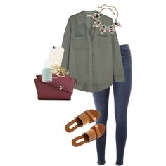 A fashion look from January 2016 featuring Splendid tops, J Brand jeans and Steve Madden sandals. Browse and shop related looks.
