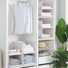 Closet Shelf Dividers, Closet Shelves, Closet Storage, Wardrobe Storage, Cheap Storage, Stackable Storage Boxes, Cutlery Storage, Storage Baskets, Kitchen Utensil Organization