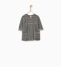 Fabric stripe dress-DRESSES-Baby girl-Baby | 3 months - 3 years-KIDS | ZARA United States