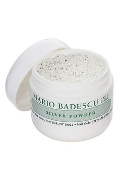 $12 Mario Badescu Silver Powder for stubborn blackheads! It works like magic!
