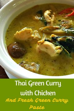 Thai Green Curry captures all of the exotic flavors of Thailand, from sweet and creamy coconut milk to tart lime and spicy chili and balances them together. @venturists