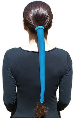 Best ponytail wrap ever!!! I use it when I ride my motorcycle and on my morning runs.