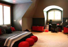 Teen boy room.