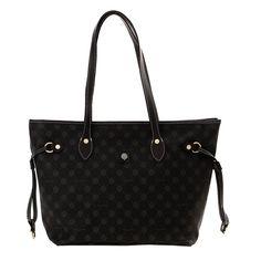 Γυναικεία Τσάντα (Women's Handbag ) THIROS  D30-1044A-OTblack Louis Vuitton Neverfull, Handbags, Tote Bag, Collection, Shopping, Fashion, Moda, Louis Vuitton Neverfull Damier, Totes