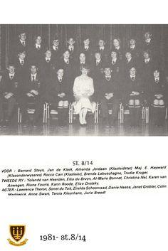 1981 St.8/14 Hoërskool Wesvalia