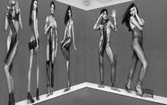 fashion shoot, fashion illys ad in sportswear/equipment