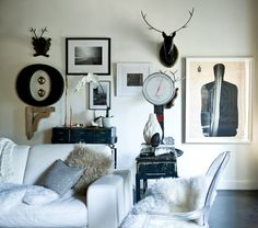 Eclectic Living Room by Jamie Laubhan-Oliver