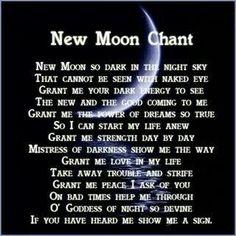 moon goddess spell