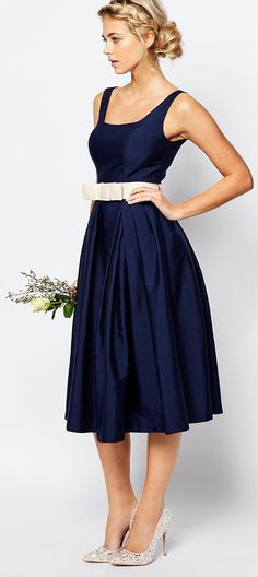 'Prim n' Proper' bridesmaid dress by Chi Chi London