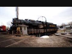 Pere Marquette #1225 takes a Spin on the Turntable