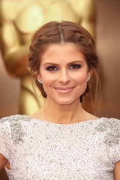 Maria Menounos Side Braids with Bun