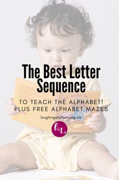 What letter sequence should you use to teach letter names and sounds? Here's how to teach the alphabet and the best letter sequence to use: Printable Activities For Kids, Alphabet Activities, Kindergarten Activities, Educational Activities, Free Activities, Teaching The Alphabet, Teaching Kids, Kids Learning, Teaching Resources