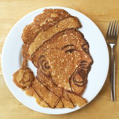 Have a Havoc Christmas! #vcu #letsgorams #pancakeart #pancakes #collegehoops