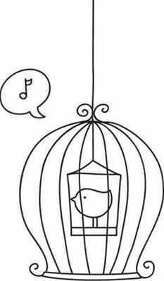 The Caged Bird_image