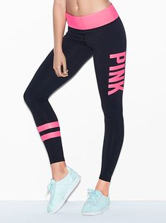 d58f4cb336 34 Best Pink leggings images | Victoria secret pink, Pink outfits ...