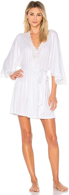 2f9290428a9 Shop for eberjey Kiss the Bride Belle Robe in White 2 at REVOLVE.