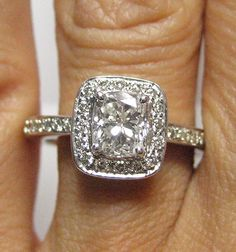 1.30ct Antique Vintage Style...I'm sensing a pattern here in my taste for rings...