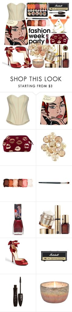 """""""NYFW After Parties"""" by michal100-15-4 ❤ liked on Polyvore featuring Oh My Corset!, NYX, Laura Mercier, Disney, Estée Lauder, Kate Spade, Lancôme, Wine Enthusiast and afterparty"""