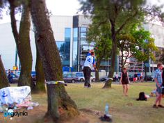 slackline Park Rady Europy