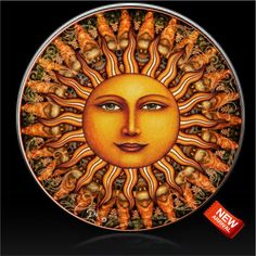 Aurora Sun by Dan Morris Designs spare tire cover. Custom made to fit your spare tire. Just provide the spare tire size when ordering. Custom Tire Covers, Spare Tire Covers, Painted Tires, Dan Morris, Boat Seats, Aurora, Tire Size, Sun Stock, Ink