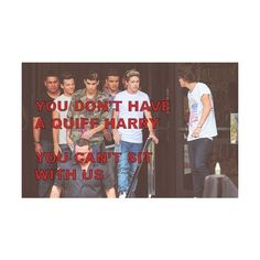 Pinterest ❤ liked on Polyvore featuring one direction, 1d, pictures, funny, quotes, phrase, saying and text