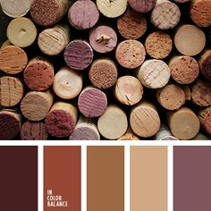 Refined And Sophisticated Palette In Which All The Colors Are Harmony With Each Other