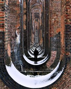 Exploring a snow-dusted #Balcombe Viaduct in #WestSussex #England with photographer Matthew Coleman @findmatthewcoleman and his friend @olirobertson. This image was submitted via Instagram by one of our followers. To submit photos for consideration for our feed please follow @featureshoot and tag your photos with the hashtag #myfeatureshoot. by featureshoot
