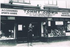 Tommy   Godwin 2 bronze Olympic  medals in 1948..Kings Heath  shop.