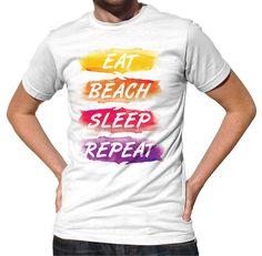 Men's Eat Beach Sleep Repeat T-Shirt