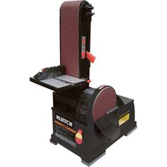 FREE SHIPPING — Klutch Benchtop Belt/Disc Sander — 1/2 HP, 2200 RPM | Polishing Sanding Tools| Northern Tool + Equipment