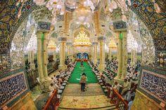 Inside the shrine of Imam Ali in Najaf, Iraq