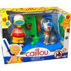 CAILLOU, planche èa voile pour le bain. 12M+ 19.99$ Disponible en boutique à Saint-Sauveur, ou en ligne à info@laboiteasurprisesdenicolas.ca