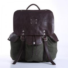Lennon Back Pack in Loden