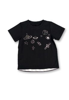 Galaxy Tee | Peekaboo Beans - playwear for kids on the grow! | Contact your local Play Stylist or shop On-Vine at www.peekaboobeans.com