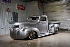 Hot Rod by queen Dodge Pickup, Dodge Trucks, Chevrolet Trucks, Hot Rod Trucks, Cool Trucks, 1946 Chevy Truck, Classic Pickup Trucks, Chevy Pickups, Sweet Cars