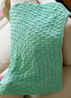 Easy Baby Blanket Knitting Patterns For Beginners