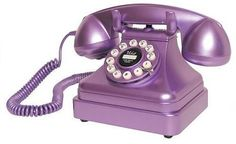 Awesome Purple Things  - Too bad 'purple' wasn't available when this phone was the fashion...