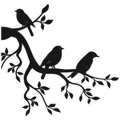 Vogel Silhouette, Bird Silhouette Art, Silhouette Painting, Silhouette Portrait, Art Drawings For Kids, Art Drawings Sketches Simple, Pencil Art Drawings, Bird Stencil, Stencil Art