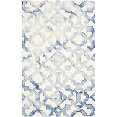 Evelina Rug in Blue and Ivory  at Joss and Main