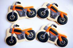 Baked Happy - Motorcycle Cookies