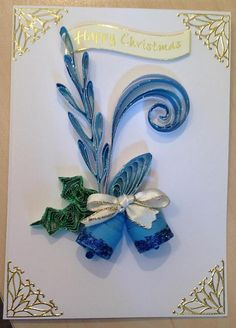 Quilling Christmas bells