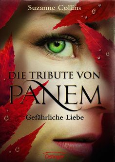 """German cover of Suzanne Collins´ """"Catching Fire"""""""