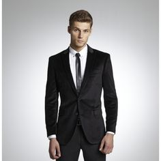 Kenneth Cole New York Velvet Blazer - available on enlightened.org and you get 2.5% back to donate to charity!! You doesn't need a good velvet blazer to liven up your evening-wear!?