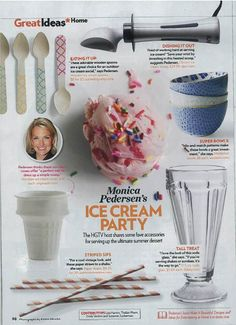 My picks for the perfect ice cream party via People Magazine