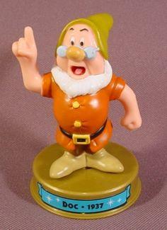 100 Years Of Magic Doc Dwarf PVC Figure On Base, Walt Disney World